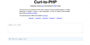 curl to php